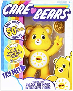 Care Bears Funshine Bear Interactive Collectible Figure