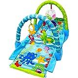 WonderKart® Ocean Kick And Crawl Play Gym With Hood Tunnel - Multi
