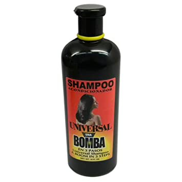 Dominican Hair Product Una Bomba Shampoo 16oz by Universal by Faviola Carrect