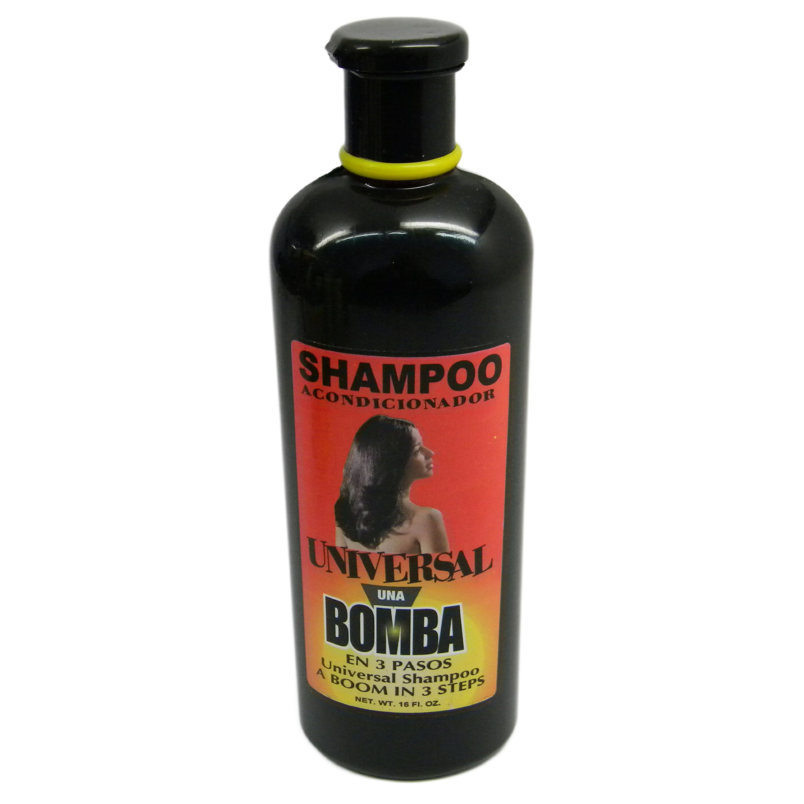 Amazon.com : Dominican Hair Product Una Bomba Shampoo 16oz by Universal by Faviola Carrect : Standard Hair Shampoos : Beauty