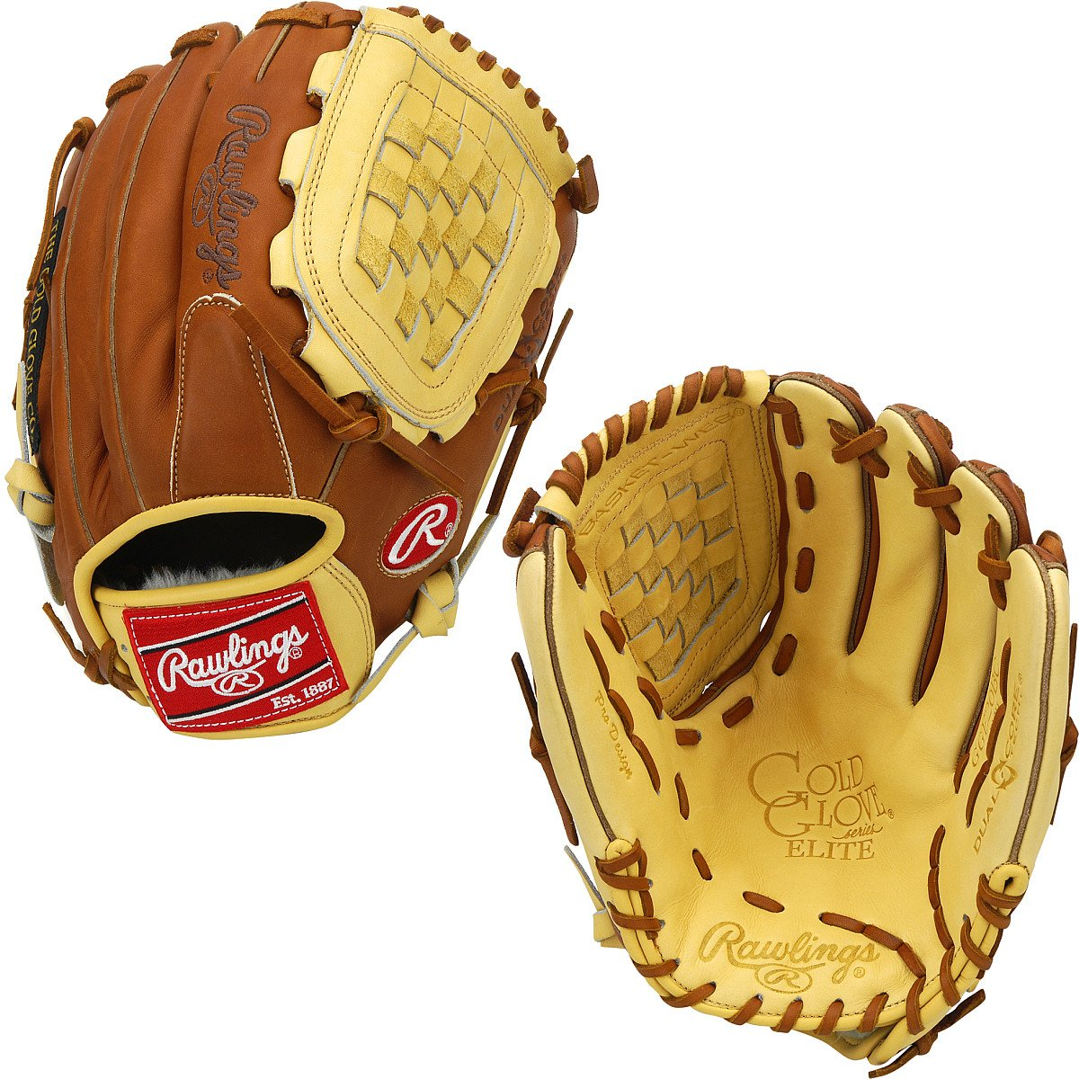88c9a86f709 Amazon.com   Rawlings Gold Glove Elite 12 Inch Adult Baseball Utility Glove    Baseball Mitts   Sports   Outdoors