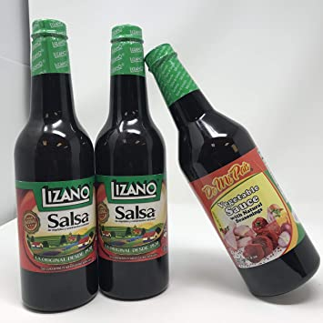 Lizano Sauce, 700 ml | 3-Pack (2) Lizano Salsa and (