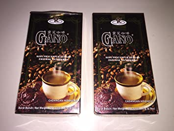 Amazon gano excel 2 boxes 40 sachets ganocafe 3 in 1 gano excel 2 boxes 40 sachets ganocafe 3 in 1 coffee with ganoderma reheart Gallery
