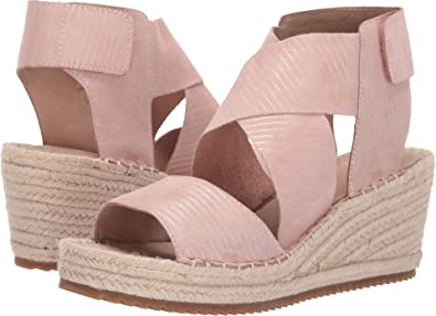 47102ca90 Amazon.com | Eileen Fisher Women's Willow Espadrille Wedge Sandal |  Platforms & Wedges