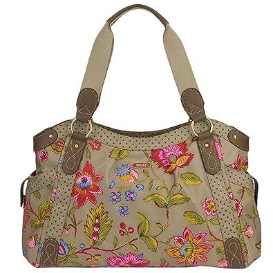 750bb631cc014 Oilily Colored Dreams Carry All Beige Damen Handtasche Tasche Henkeltasche