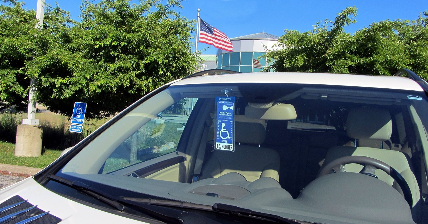 JL Safety Suction Cup with Magnet Charm Use on All Mirortag and Windshieldtag Placard Holders 2 Included
