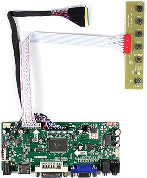 HDMI VGA LCD LED LVDS Controller Board Driver kit for B140XW01 V.8 DVI