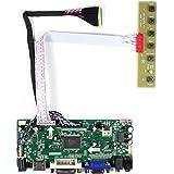 """HDMI + VGA + DVI + Entrée audio Carte contrôleur LCD pour LP173WD1 N173FGE 15.6 """"17.3"""" 1600x900 Rétroéclairage LED 40Pin LCD Panel"""