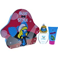 First American Brands The Smurfs Blue Style Smurfette for Kids, 2 Pc Set