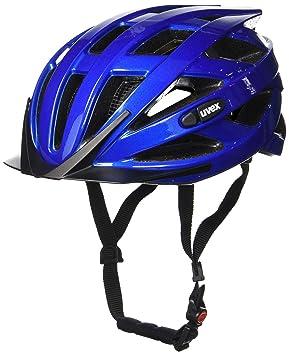 Uvex I-Vo - Casco de ciclismo, unisex, color Blue Metallic, tamaño
