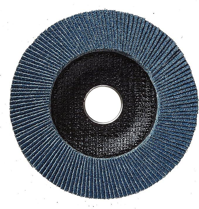 A120 5//8-11 Hub 1 Mercer Abrasives 271H120 7 Aluminum Oxide Flap Disc Type 27 Grit