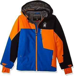 e1c337622 Spyder Boys' Leader Jacket: Amazon.co.uk: Clothing