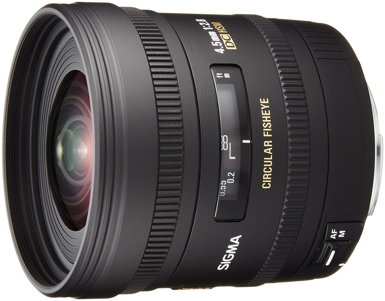 Sigma Objetivo para Canon distancia focal fija mm ojo de pez diámetro: