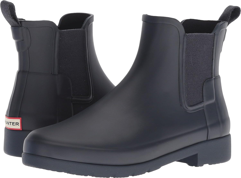 Hunter Womens Original Refined Chelsea Boots B07DP4YYDG 6 B(M) US|Navy
