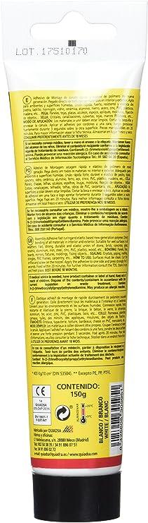 Quiadsa 52503381 Sujeción Inmediata 3 Segundos, 150 gr: Amazon.es: Bricolaje y herramientas