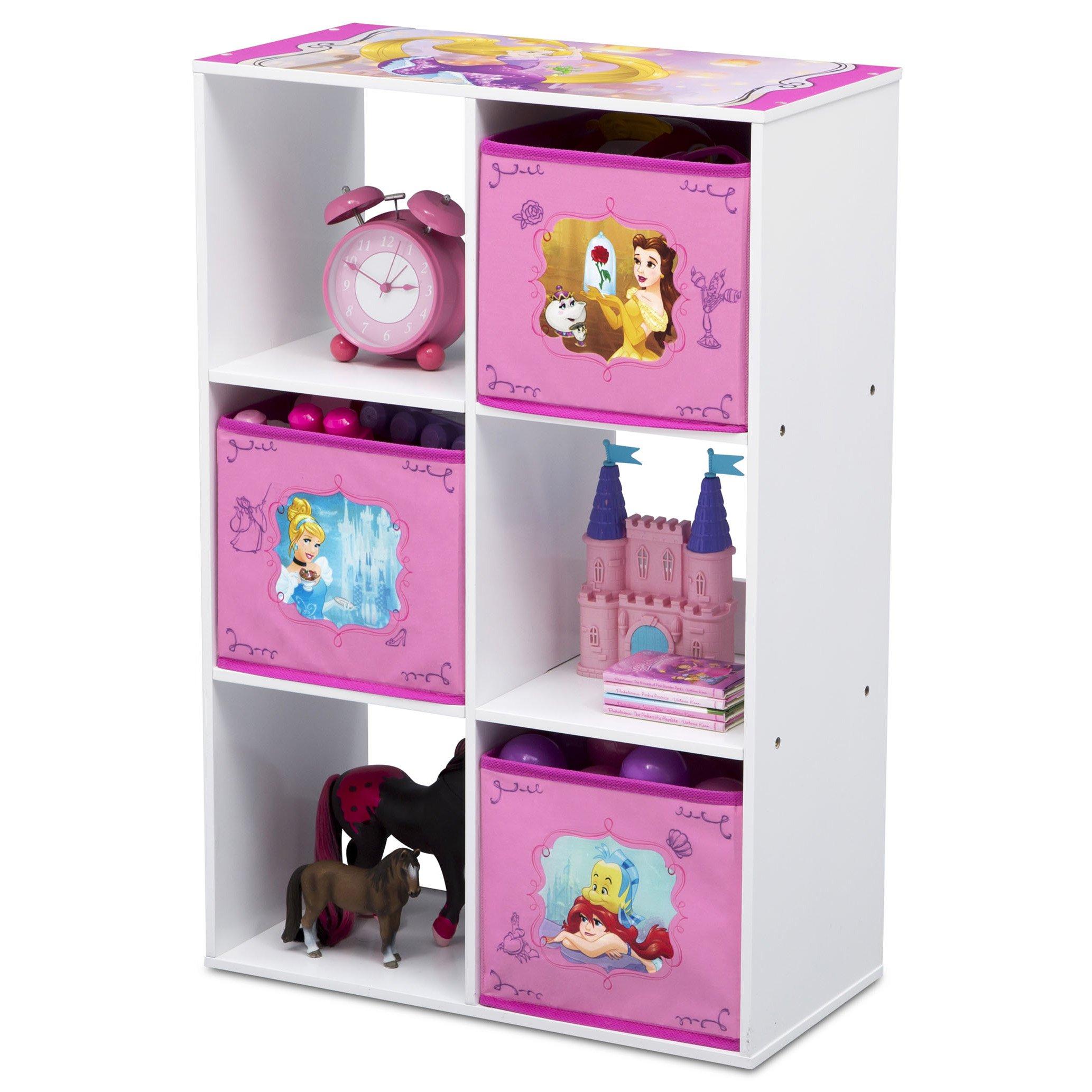 Delta Children 6 Cubby Storage Unit, Disney Princess by Delta Children (Image #4)
