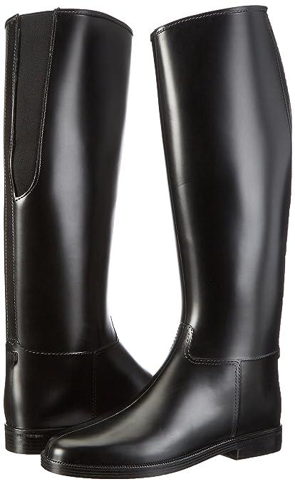 Hkm Botas de equitación para Basic estándar, todo el año, mujer, color Negro - negro, tamaño 30 EU