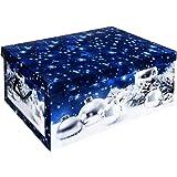 weihnachtsbox f r 48 christbaumkugeln box und. Black Bedroom Furniture Sets. Home Design Ideas