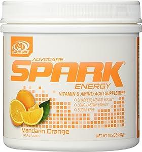 AdvoCare Mandarin Orange Spark Canister 10.5 Ounce - New