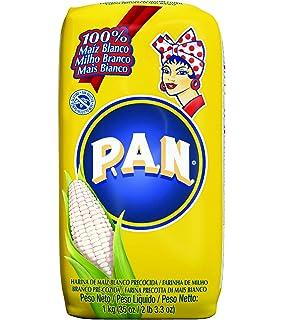 Pan Harina de Maíz Blanco Precocida - 1 kg