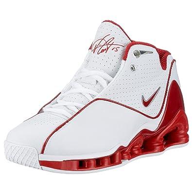 new concept 086f0 bef5c Nike Boys  Nike Shox VC II (GS) White 305080-161 5.5 UK  Amazon.co.uk  Shoes    Bags
