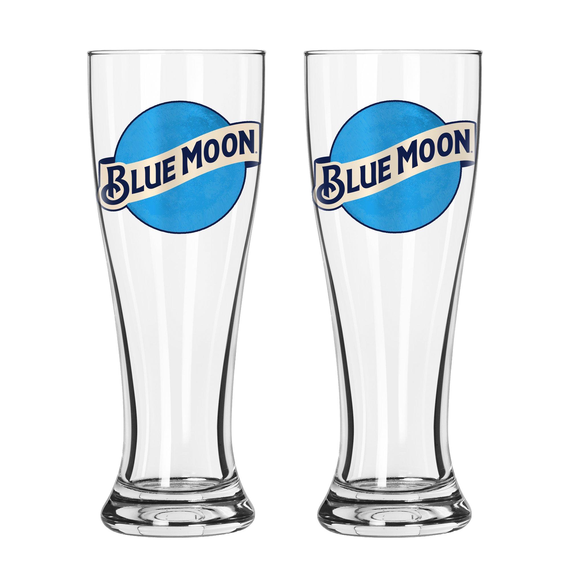 Boelter Brands Blue Moon Signature Pilsner Set, 16-ounce, 2-Pack