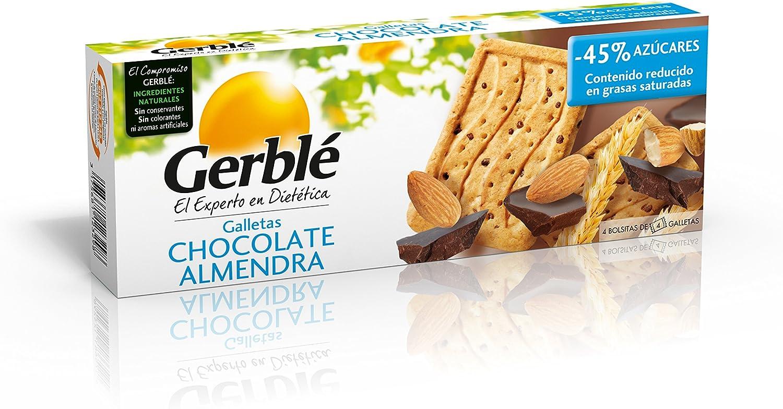 Galletas chocolate almendra gerblé 200 g - [Pack de 3]: Amazon.es ...