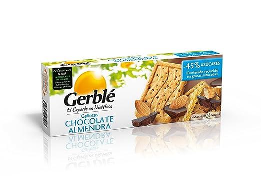 Galletas chocolate almendra gerblé 200 g - [Pack de 3]