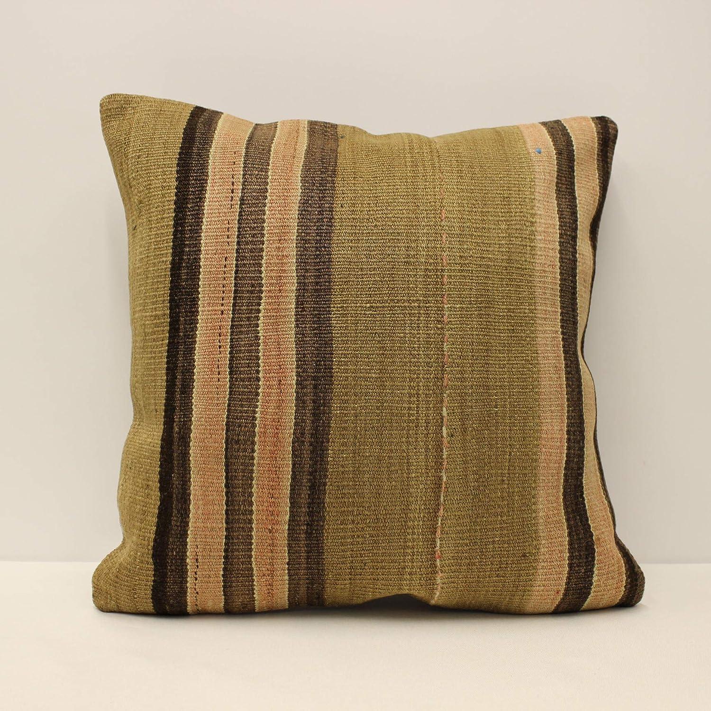 18x18 inches Cushion Cover  45x45 cm Turkish Pillow Sofa cushion Handmade Throw pillow Vintage red pillow Boho chair cushion F-1179