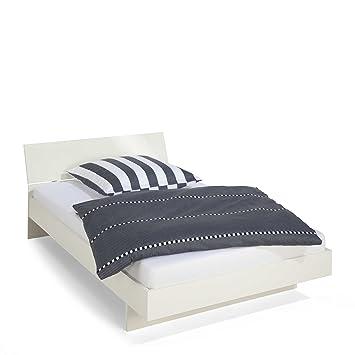 Wellemöbel Bett Jugendwunder 120 x 200 cm weiß: Amazon.de: Küche ...