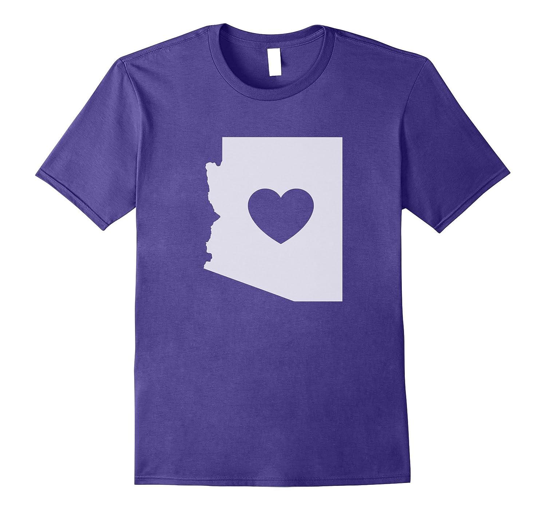 The Official Arizona Love Heart T-Shirt-TD