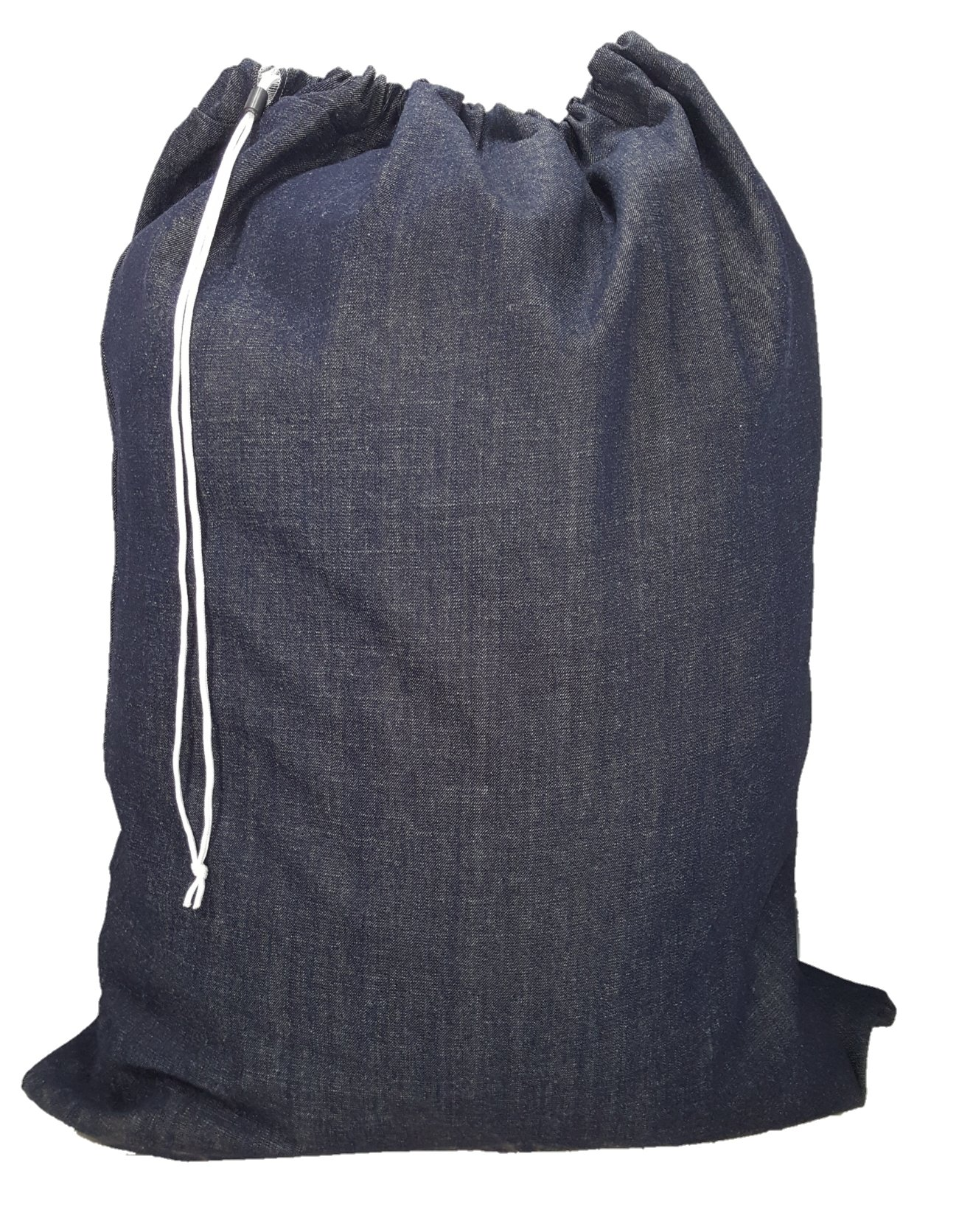 Ameratex Heavy Duty 10 oz Denim Laundry Bag 40in x 50in - Made in the USA