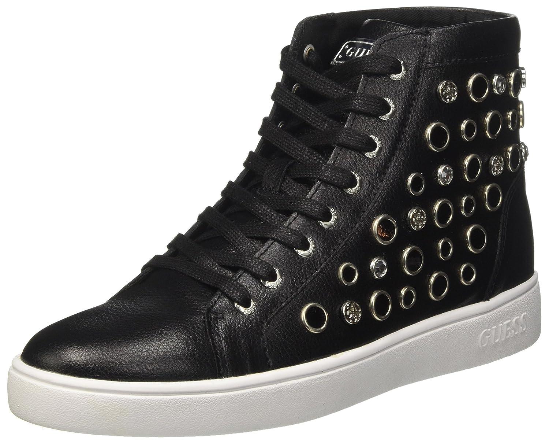 Guess Gerta2, Zapatillas Altas para Mujer 36 EU|Negro (Nero)