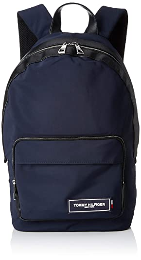 Tommy Hilfiger - Th Patch Backpack, Mochilas Hombre, Azul (Tommy Navy/Black), 14x46x31 cm (B x H T): Amazon.es: Zapatos y complementos