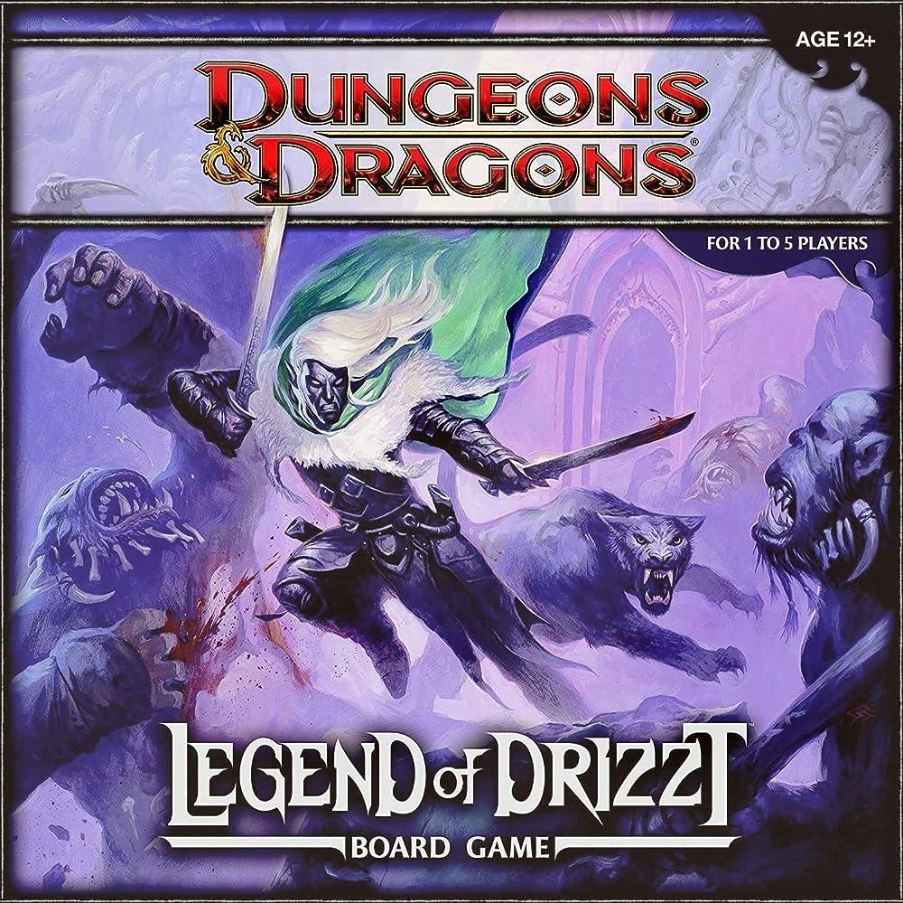Dragones y Mazmorras: la Leyenda de Drizzt