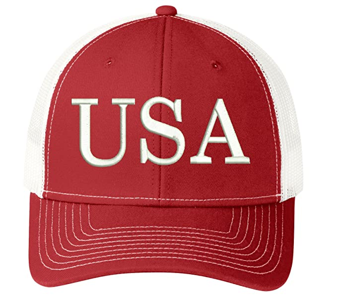 ed3ff1bed6edd Image Unavailable. Image not available for. Color  USA Trump Hat 45th  President Make America Great Again ...