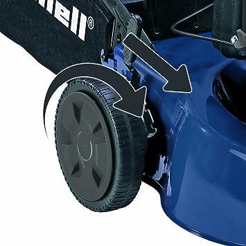 Einhell BG-PM 46 S - Cortacésped (35.5 kg) Negro, Azul: Amazon.es ...