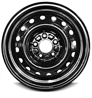 Road Ready Wheels- New Replacement Black 16 Inch Steel Wheel Rim for Chevrolet Impala (