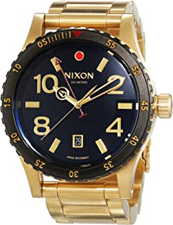 Nixon Diplomat SS 45mm Mens Watch (Gold/Black)