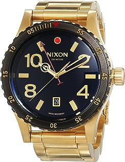 Nixon Diplomat SS 45mm Mens Watch (Gold/Black)