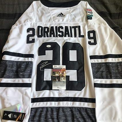 Amazon.com: Leon Draisaitl Autographed Signed 2019 All Star ...