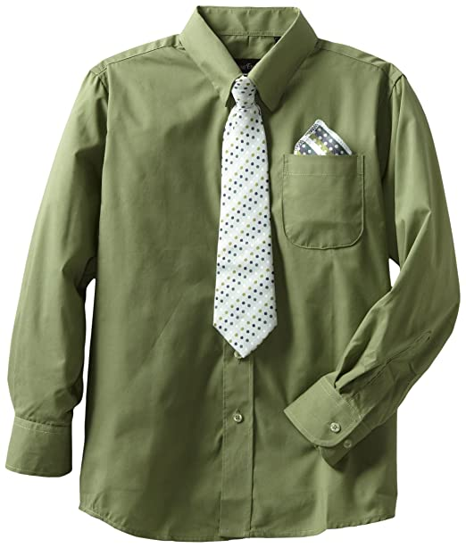 Boys Dress Shirts and Ties