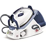 Tefal GV7466 Express Anti-Scale High Pressure Steam Generator, 2200 Watt, 6.5 Bar, Blue/White