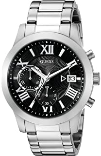 GUESS Mens Stainless Steel Two-Tone Casual Watch