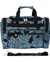 World Traveler Duffle Bag Zebra Print Collection - 16 Inch