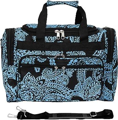 Travel Luggage Duffle Bag Lightweight Portable Handbag Gold Giraffe Print Large Capacity Waterproof Foldable Storage Tote