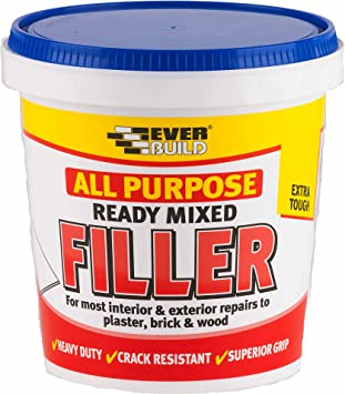 Everbuild All Purpose Filler Fast Drying Filler For Instant Repairs To Minor Imperfections White 1 Kg Amazon Co Uk Diy Tools