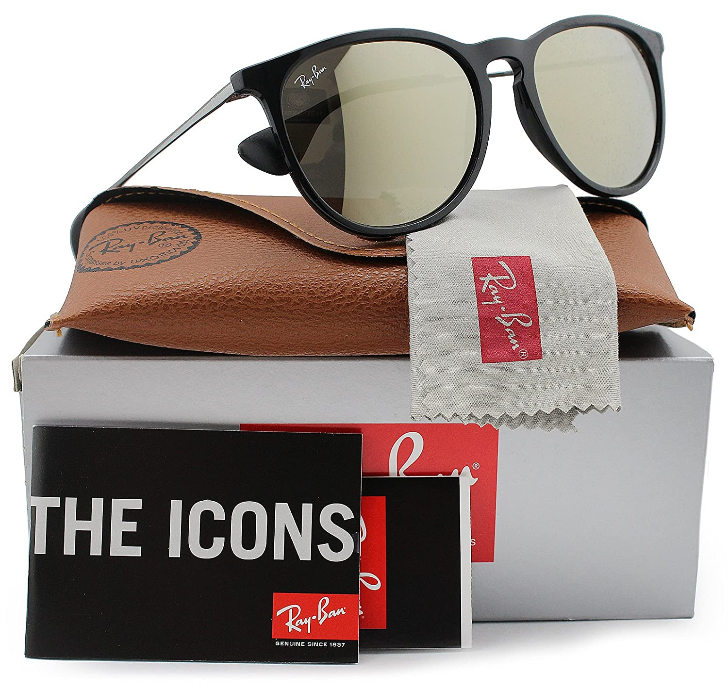 Amazon.com: Ray-Ban RB4171 Erika anteojos de sol brillante ...