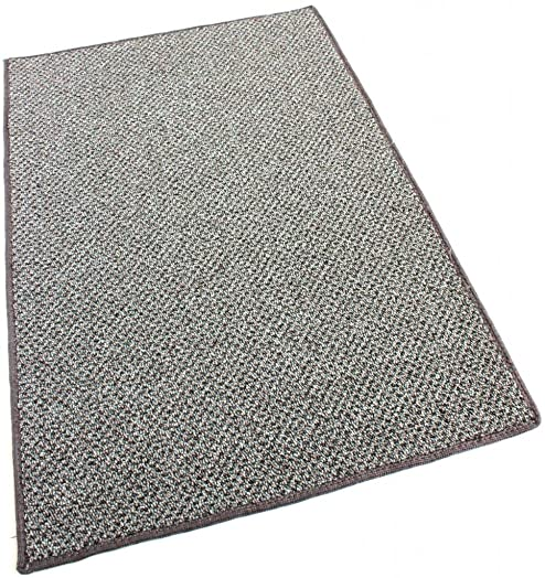 Koeckritz 5 X8 Oval – Taupestone – Indoor-Outdoor Graphic Loop 1 8 Thick 20 oz Area Rug Carpet