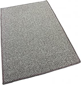 Koeckritz 12' Round - Taupestone - Indoor-Outdoor Graphic Loop 1/8? Thick 20 oz Area Rug Carpet